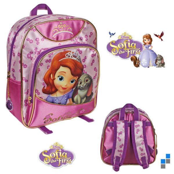 Preschool -<br> Backpack 27cm<br>Disney Sofia
