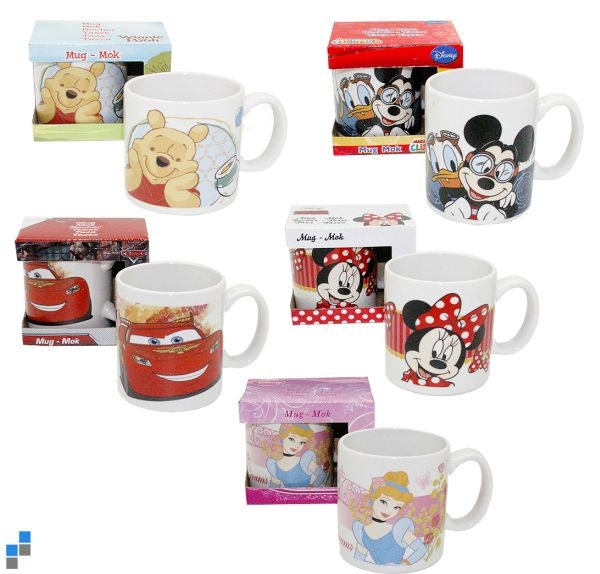 Cup 120ml 5<br>assorted Disney