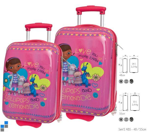Reisekoffer<br> Trolley Set<br>2-teilig McStuffins