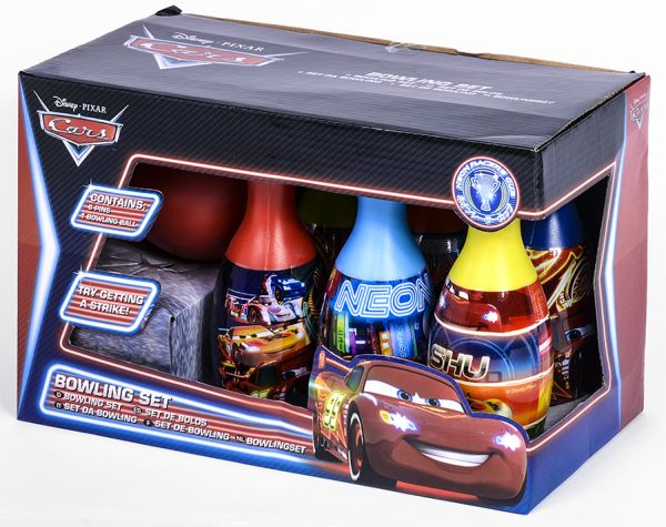 Bowling Set mit<br>Ball Disney Cars