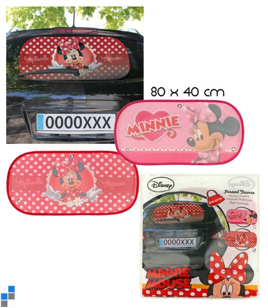 Car sunshade 2<br> assorted Disney<br>Minnie