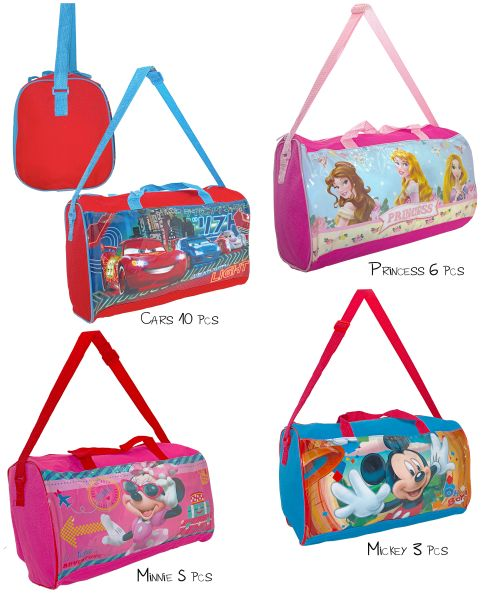 Sports bag 4<br> assorted 37cm<br> Disney  sorted