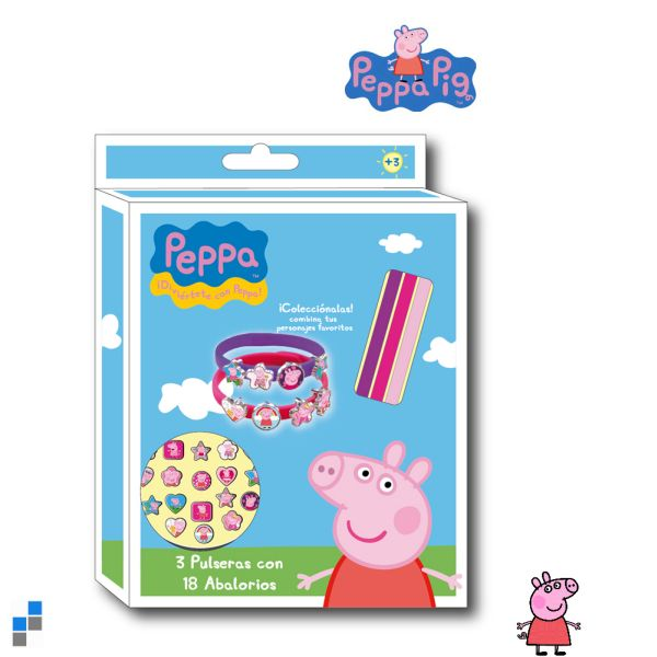 Accessories<br> Bracelet Set<br>21-piece Peppa Pig