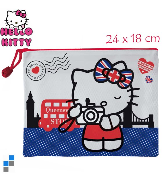 Cosmetic bag 24cm<br>Hello Kitty