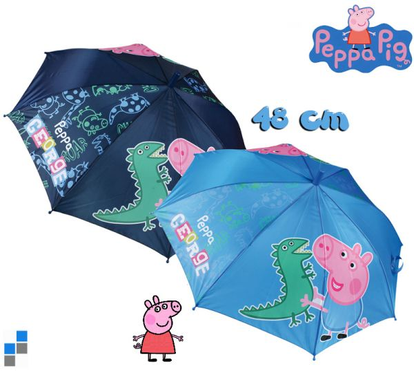 Children Umbrella<br> Basic 48cm 2-way<br> Peppa Pig