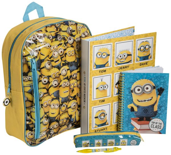 Backpack 35cm<br>stationery Minion