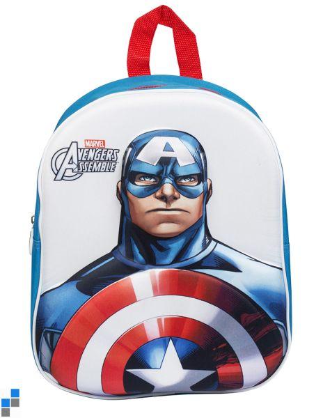 Rucksack 3D 33cm<br>Captain America