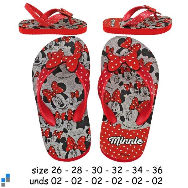 Premium Flip Flops<br> EVA size 26-36<br>sorted Minnie