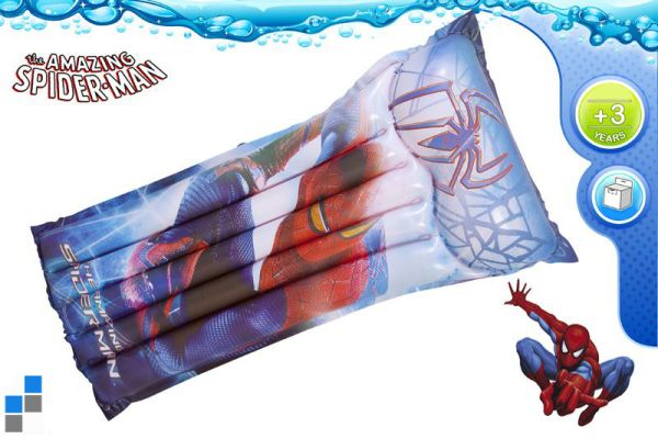 Swimming pool<br> inflatable mat<br>119x61cm Spiderman