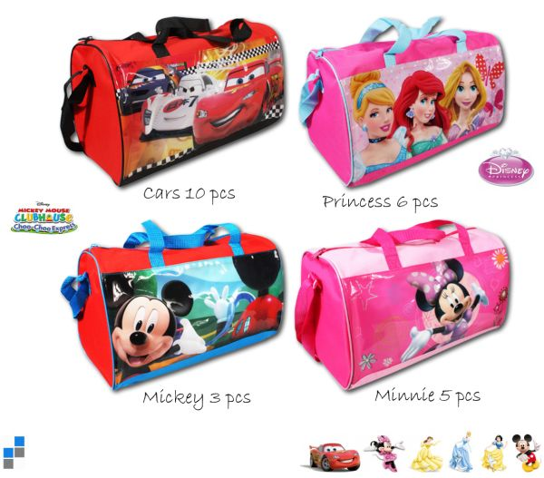 Sports bag 4 assorted 37cm Disney sorted