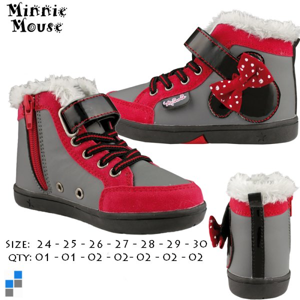 Winter Shoes Boots<br> Gr. 24-30 sorted<br>Minnie