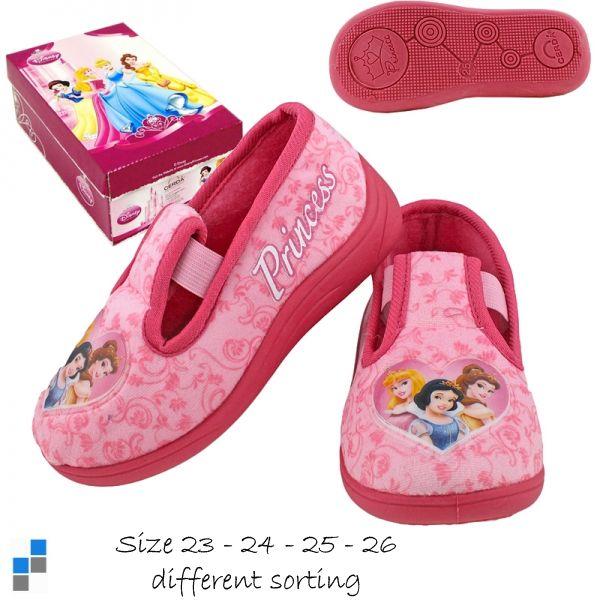 Hausschuhe Pantoffeln Gr. 23-26 sortiert Princess