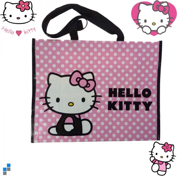 Shopping Bag Hello<br> Kitty Dots<br>42x35x17cm