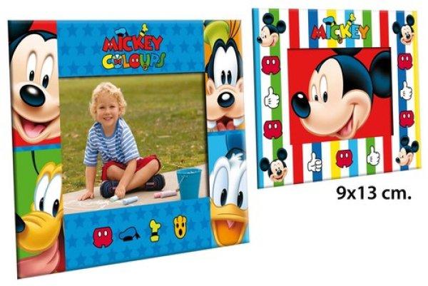 Cadre photo 9x13 cm 2 assortis Disney Mickey
