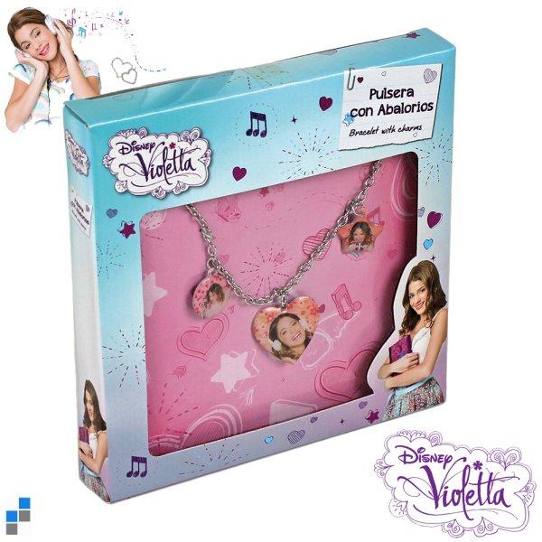 Bracciale con<br> Charms Disney<br>Violetta