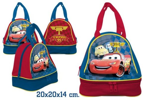 Kindergarten bag<br> with bread tray<br>20x20x14cm Cars
