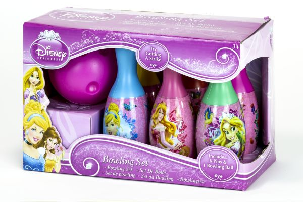 Bowling Set mit<br>Ball Disney Princess