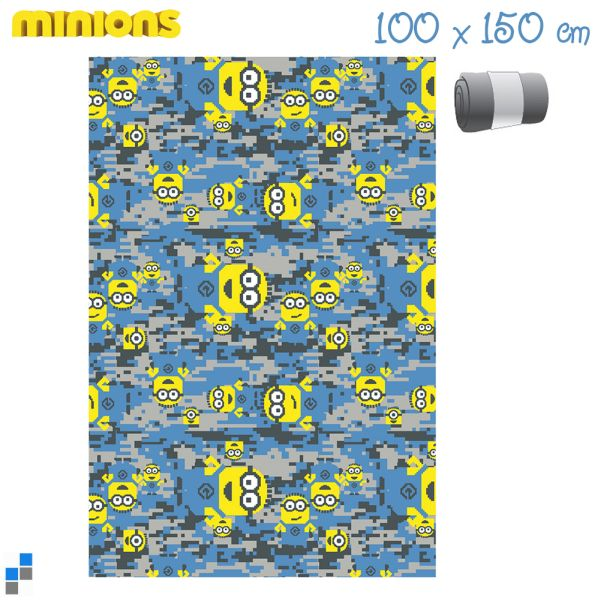 Polar Fleecedecke<br>150x100cm Minion