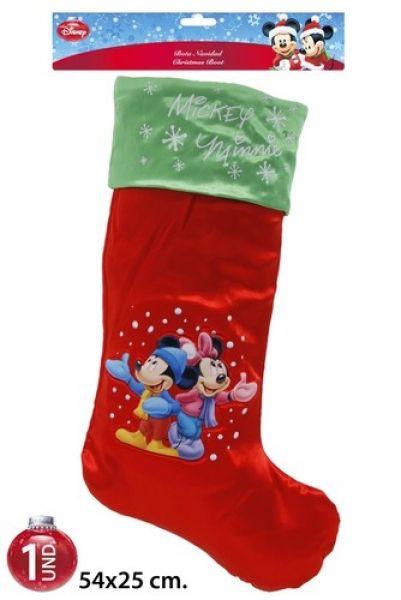 Chaussette de Noël sous blister Disney Mickey / Mi