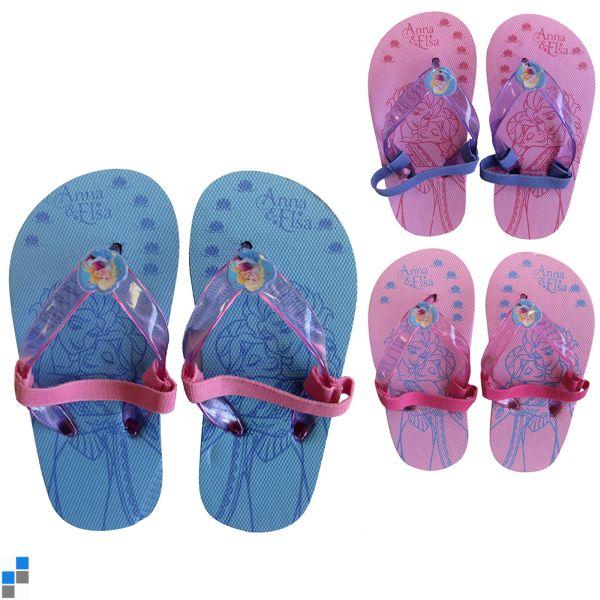 Flip Flops 3 tailles assorties 22-27 frozen