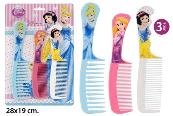Grzebień do włosów<br> 3-częściowy, 3<br>dobrany Disney P