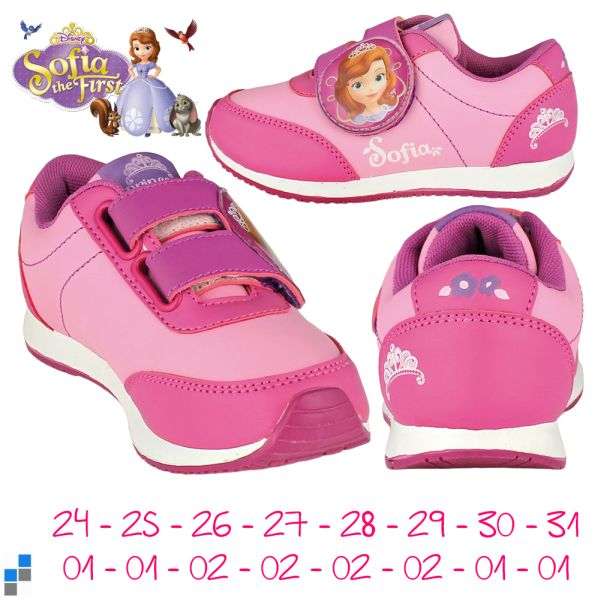 Sports shoes size<br> 24-31 by Disney<br>Sofia