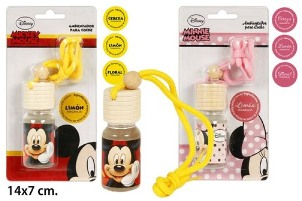 Car Air Freshener<br> 10ml Disney Mickey<br>/ Minnie