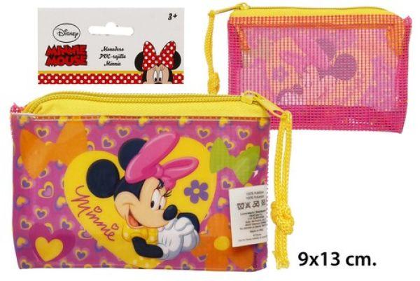9x13cm portfel PVC<br>Minnie