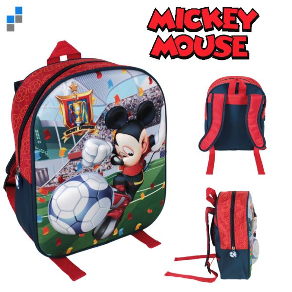 Rucksack 3D 31cm<br>Disney Mickey