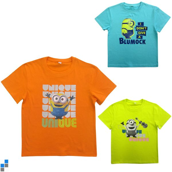 T-shirt 3 Minion assortis Taille 2-8 ans
