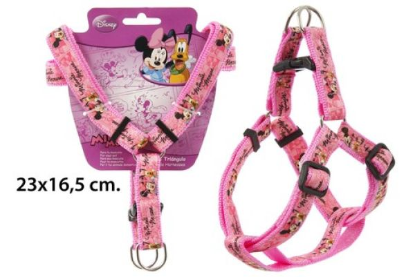 Hundegurt 23x16,<br> 5cm in blister<br>Minnie