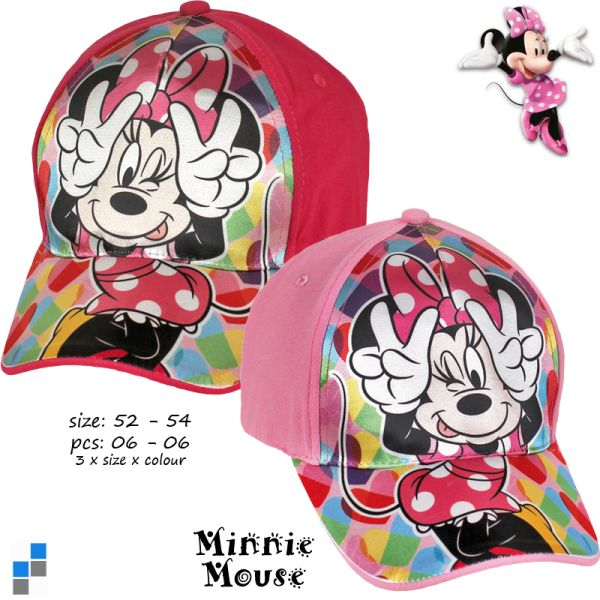 Casquette Basic 2 assortis Minnie Gr. 52-54