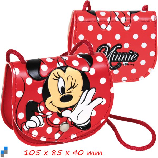 Wallet with flap 11cm Disney Minnie
