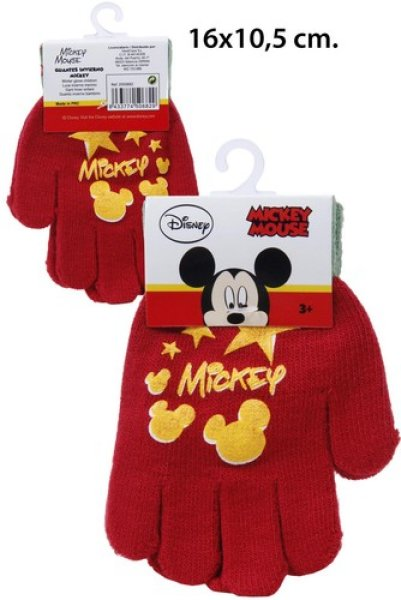 Winter Gloves<br> Disney Mickey with<br>PVC patch