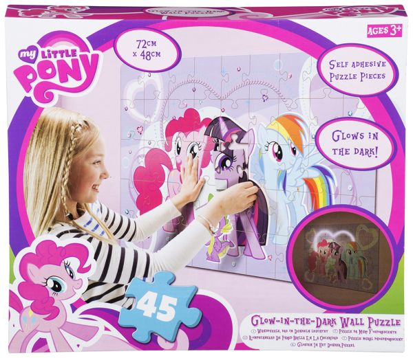 Hasbro Wandpuzzle<br> 72x48cm leuchtend<br>My Little Pony
