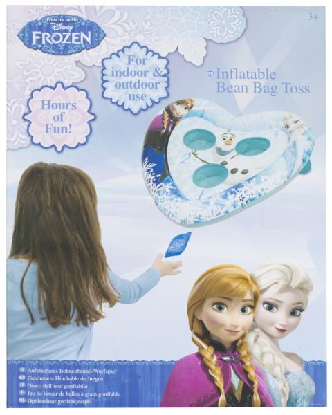Bean bag toss game<br> inflatable Disney<br>frozen
