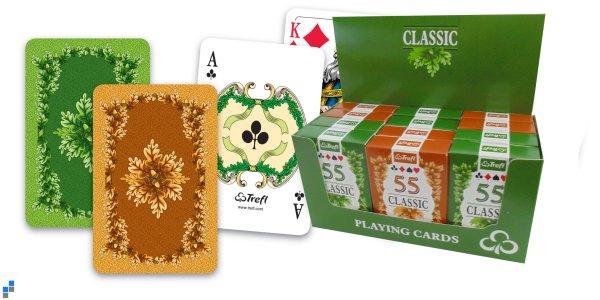 Playing Cards<br> Classic 55 darab<br>kijelző