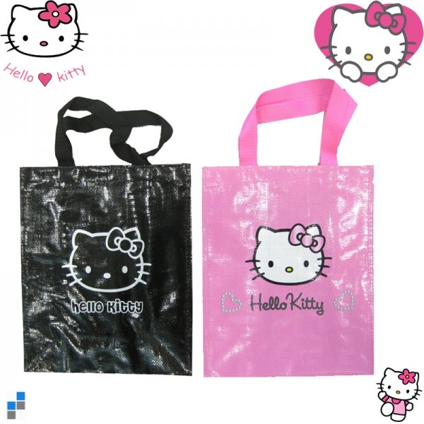 Shopping Bag Hello<br>Kitty 25x31x13cm