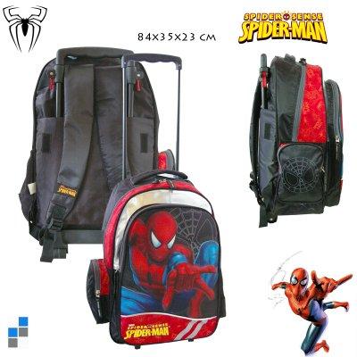 Kinder Rucksack<br> Trolley Spiderman<br>46cm