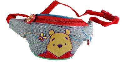 Kinder Tasche 24 X 10cm Pooh jeans