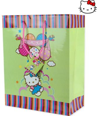 Gift bag 26x32cm L<br>Hello Kitty Balloons