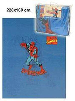 Schlafdecke 220 X<br>160cm Spiderman
