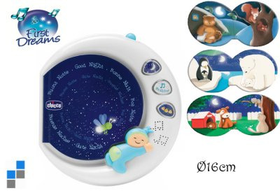 Children goodnight<br> book with sound<br>effects Ø16cm