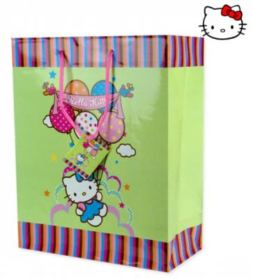 Gift bag 18x23cm M<br>Hello Kitty Balloons