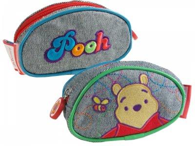 Kinder Tasche Geldbörse 13 X 7cm Pooh jeans