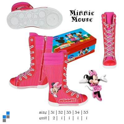 Kinder Winterboots<br> Minnie Gr. 31-35<br>sortiert