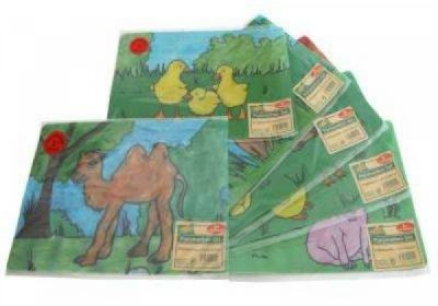 Platzmatte,<br> Kinderdesign - 2er<br>Pack