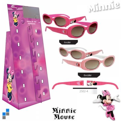 Minnie Sunglasses with<br>Stand