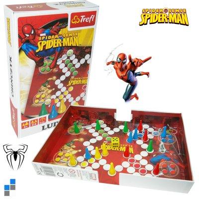 Ludo játék Disney<br>Spiderman 25,5 x18cm
