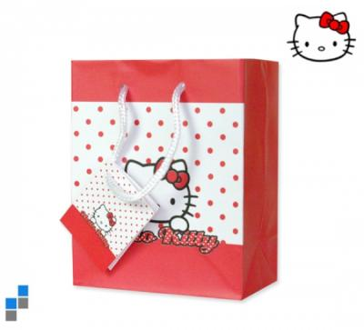 Gift bag 11x14cm S<br>Hello Kitty Dots